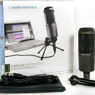 Audio Technica AT2020 USB Microphone