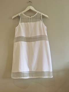 White dress size 8