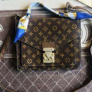 Louis Vuitton Monogram Canvas Sling Bag
