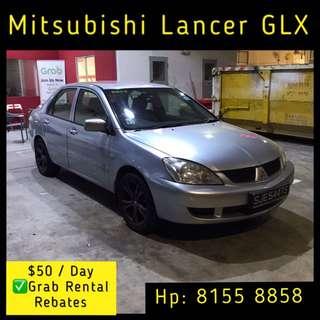 Mitsubishi Lancer Auto 1.6 - Grab Car Rentals