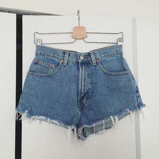Vintage GAP denim mom shorts