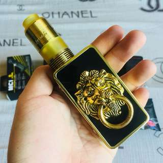 Snowwolf Mini Gold Limited Edition (complete set package all gold)