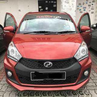 Myvi 1.5 SE for Rental/Sewa