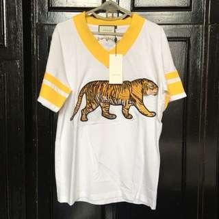 Gucci Varsity Tee (Bengal Tiger)