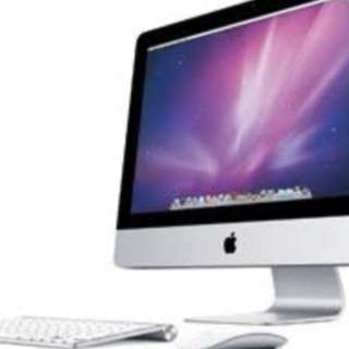 "iMac 20"" 2.66ghz 4gb ram 500gb hard drive"