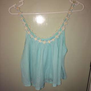Blue Daisy top
