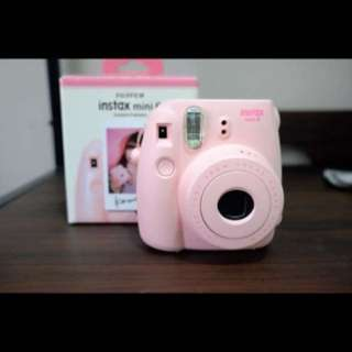Instax Mini 8 Pink Complete Set