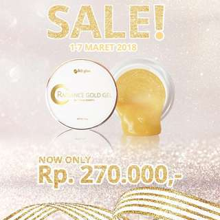 MSGLOW RADIANCE GOLD GEL
