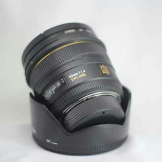 SIGMA 50MM F1.4 (NIKON MOUNT)