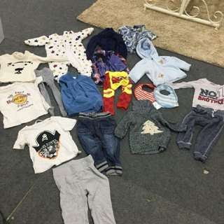 Boy's Apparels- Branded Brands