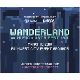 Wanderland Music & Arts Festival 2018 Regular Wanderer Tickets