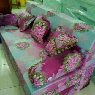 Sofa bed ukuran 200x180x20