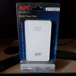 APC M5 5000 mAH Powerbank