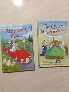 2 sets usborne very first reading