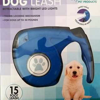 NEW IN BOX - Dog Leash 15 ft