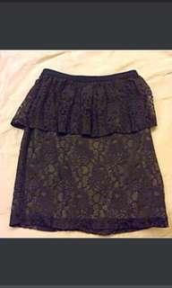 Lace Feminine Skirt From France