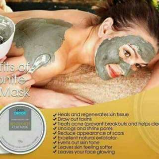 Authentic Bentonite Clay Mask #COD #FREE SHIPPING