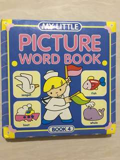 My little picture word book