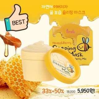 Prreti Honey & Berry Sleeping Mask 100g