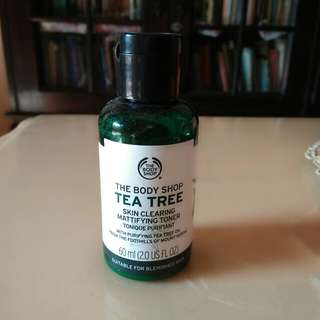 The Body shop tea tree toner (freeong)