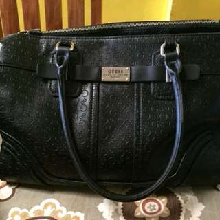 Black Guess Office Bag
