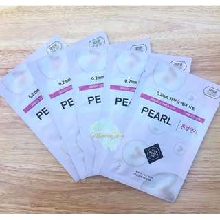 Etude House 0.2 Therapy Air Mask Pearl