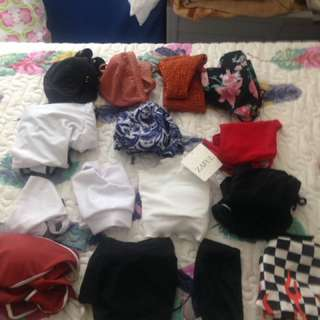 Women's summer clothes, bikini, beach, swimwear