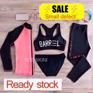 Discount 🎉4 Pieces Swimwear With Small Defect