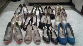 Sepatu jual murah obral garage sale