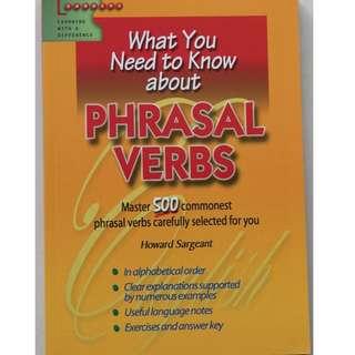 English Book  ( Phrasal Verbs)