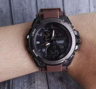 G shock metal besi New