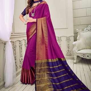 Aura silk Saree.