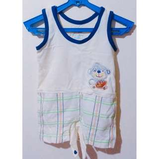 Lightweight Sleeveless Bodysuits for infant boys