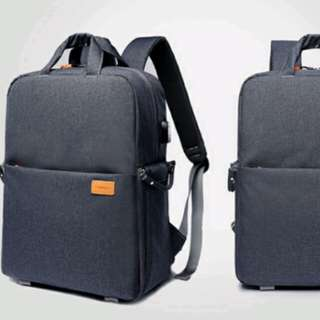 Multi function Backpack/laptop/camera/USB