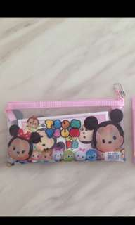 Tsum tsum pouch with stationary