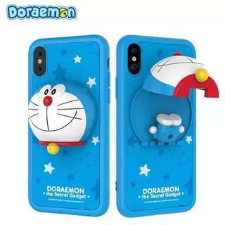 Doraemon iPhone X Hard Plastic Case