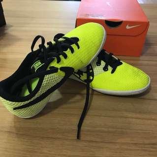 Nike kids soccer boots