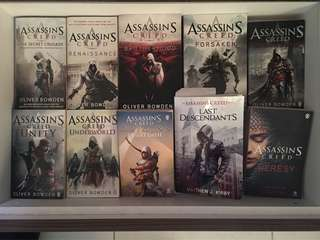 Assassin's Creed Full Book Collection