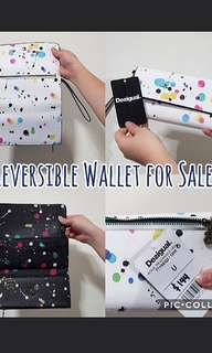 CLEARANCE- Desigual Reversible Wallet (Authentic)