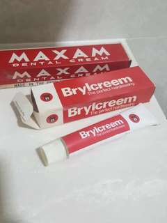 Vintage Brylcream tube