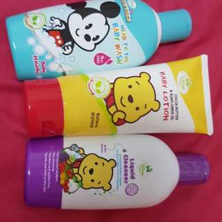 1 SET ( head wash,shower gel,lotion )