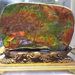 罕有油畫級加拿大斑彩 斑彩石 全七色