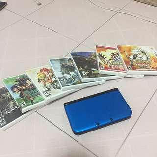 Near mint condition Nintendo 3DS XL bundle!