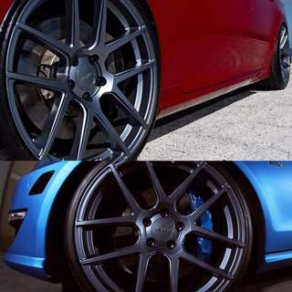 GUN METAL RIMS N CALIPER SPRAY PROMO!!💥🚗