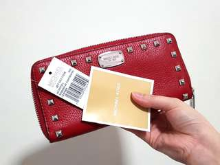 CLEARANCE- Authentic Michael Kors Wallet Studded