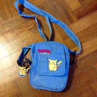 Pikachu ~ pouch/sling bag