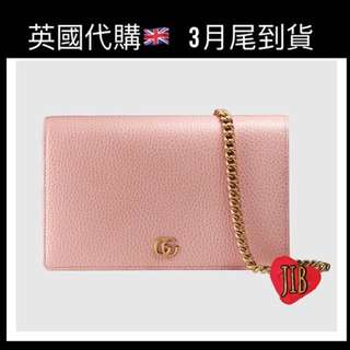 [價錢待定] GG Marmont Leather Mini Chain Bag