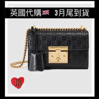 [價錢待定] Gucci ❤️ Padlock Small Gucci Signature Shoulder Bag