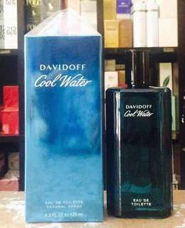 Davidoff cool water for men and women tester perfume