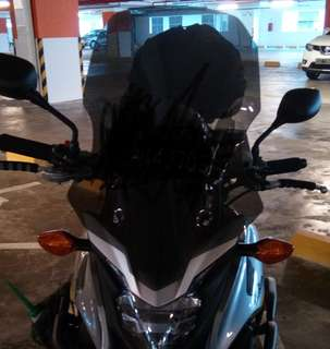 Cb400x windshield